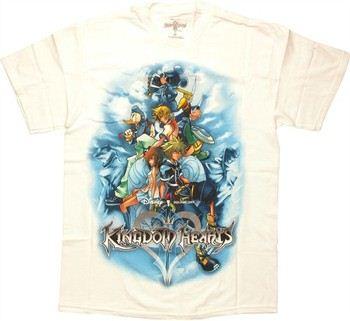 Disney Kingdom Hearts Cover T-Shirt
