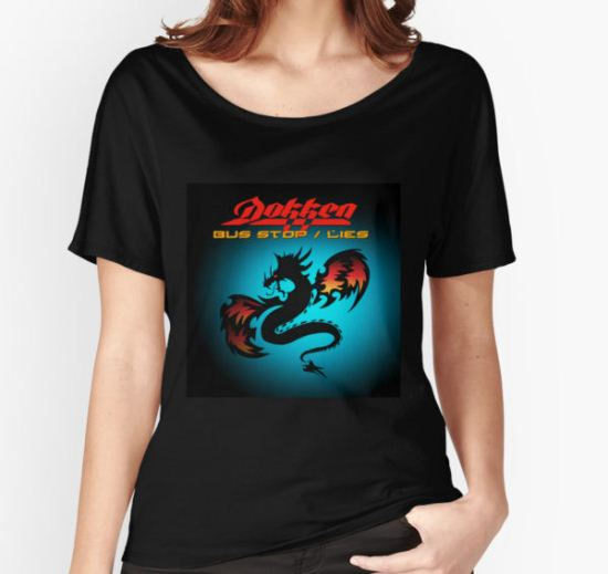 Dokken Bus Stop Women's Relaxed Fit T-Shirt by Carter Mould T-Shirt