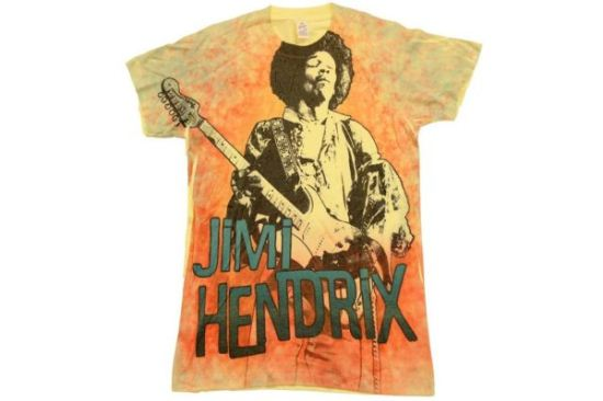 Jimi Hendrix GTR3 T-shirt Tee