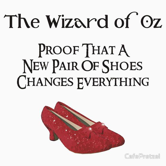 Wizard of Oz Dorothy's Shoes by CafePretzel T-Shirt