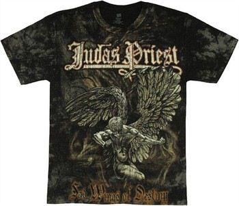 Judas Priest Sad Wings of Destiny All Over Print T-Shirt