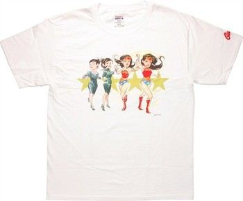DC Comics Wonder Woman Transform Stars Dustin Nguyen T-Shirt