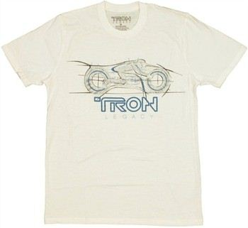 Tron Legacy Bike T-Shirt Sheer