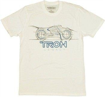 Tron Legacy Bike T-Shirt Sheer