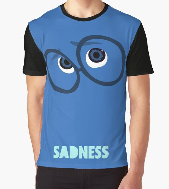 Inside Out of Sadness Graphic T-Shirt by Travis Love T-Shirt