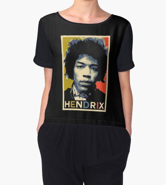 Hendrix Women's Chiffon Top by SUCHDESIGN T-Shirt