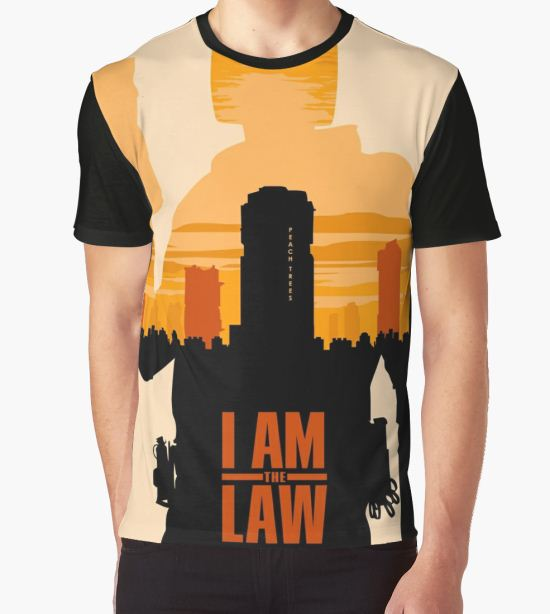 I am the Law Graphic T-Shirt by thehappyiceman7 T-Shirt