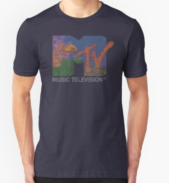 MTV logo T-Shirt by A-Game T-Shirt
