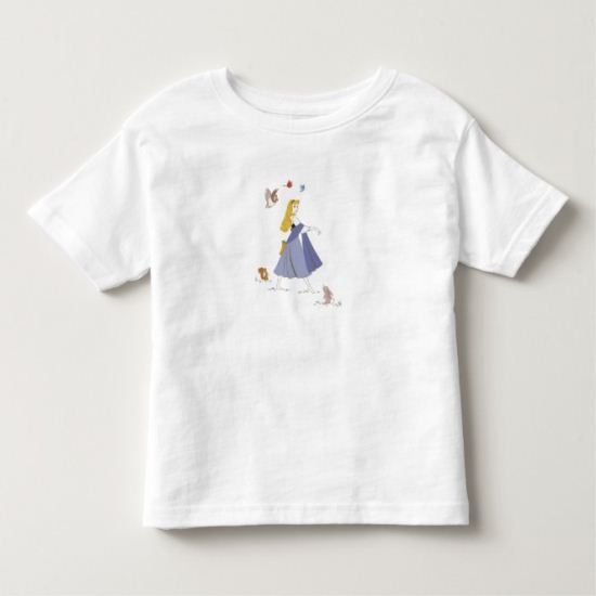 Sleeping Beauty With Animals Disney Toddler T-shirt