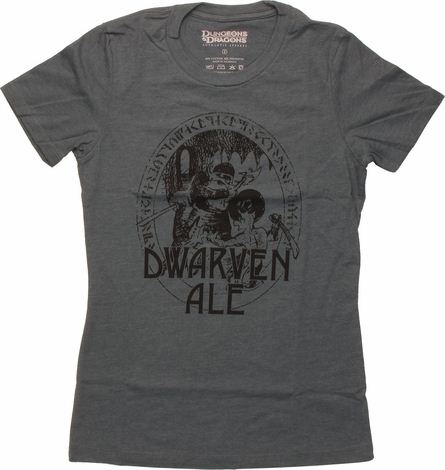 Dungeons and Dragons Dwarven Ale Baby Tee