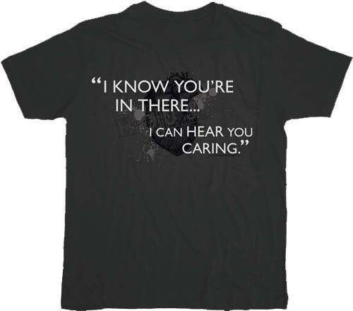 House M.D. I Know You're In There Charcoal T-shirt