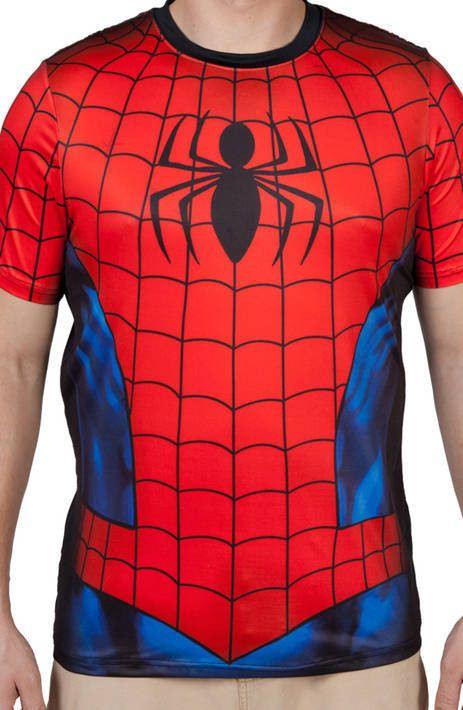 Spider-Man Costume Shirt