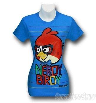 Angry Birds Nerdy Birdy Women's T-Shirt