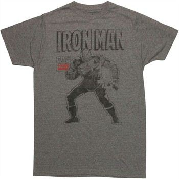 Marvel Comics Iron Man At Last the Return of the Original Jack of All Trades T-Shirt Sheer