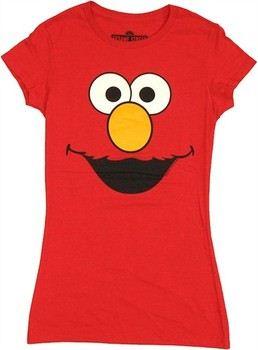 Sesame Street Elmo Face Baby Doll Tee