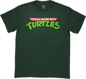 Teenage Mutant Ninja Turtles Vintage Logo T-Shirt