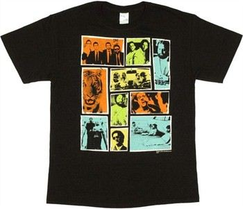 The Hangover Boxed Scene Montage T-Shirt