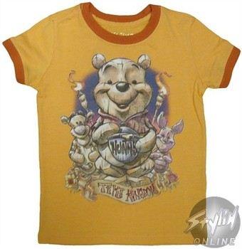 Disney Winnie the Pooh Tiki Kingdom Girls Youth T-Shirt