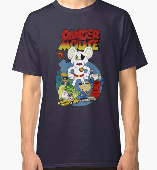 Danger Mouse Classic T-Shirt by ebbandflo T-Shirt
