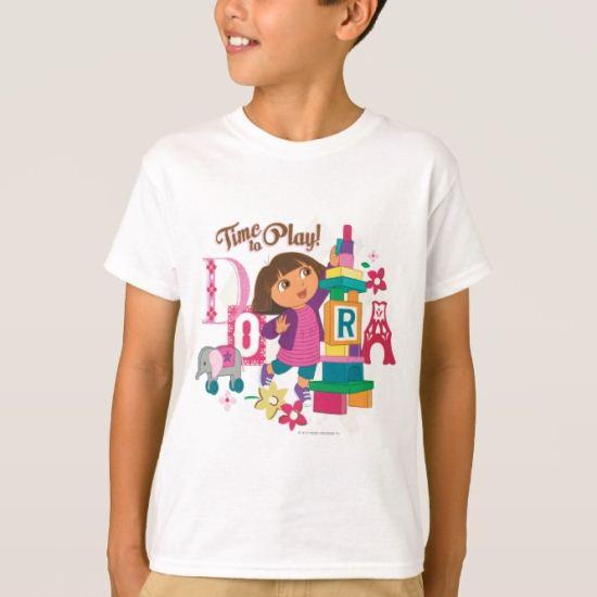 Dora The Explorer | Time To Play! T-Shirt