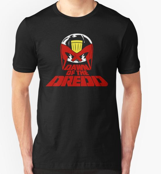 Dawn of the Dredd T-Shirt by D4N13L T-Shirt
