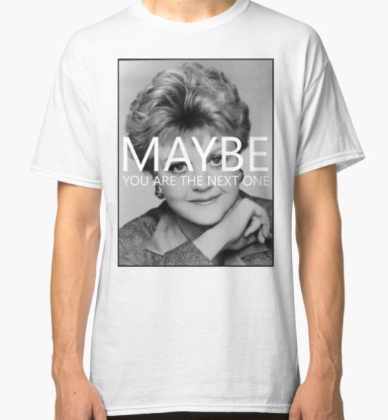 Murder, She Wrote Classic T-Shirt by RomPicasso T-Shirt