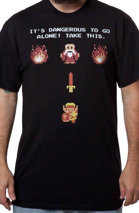 It's Dangerous Zelda Shirt