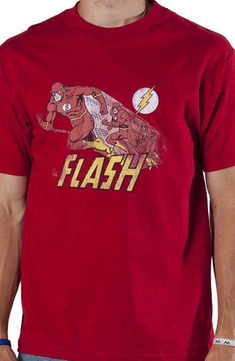 Sheldons Comet The Flash Shirt