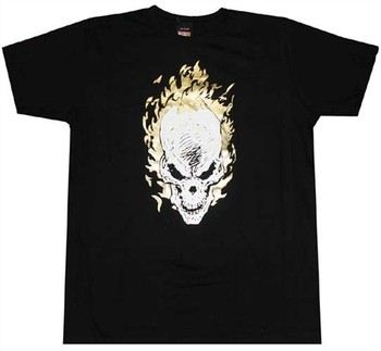 Marvel Ghost Rider T-Shirt Sheer