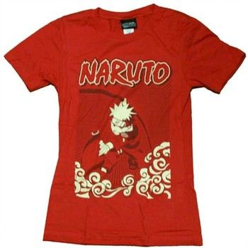 Naruto Red Baby Tee