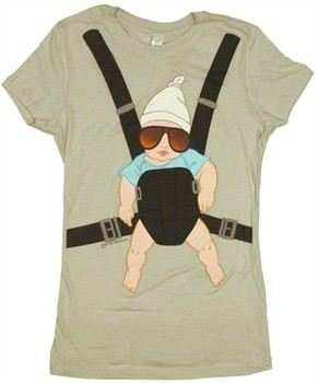 The Hangover Baby Carrier Bjorn Baby Doll Tee