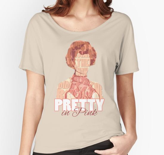'Pretty in Pink' Women's Relaxed Fit T-Shirt by Rachael Burriss T-Shirt