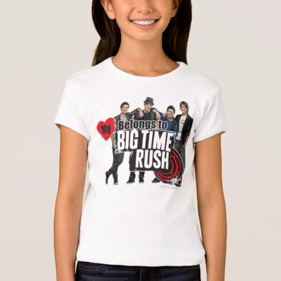 My Heart Belongs To BTR - Group T-Shirt