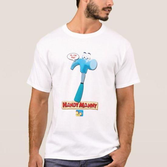 "Handy Manny's Pat the Hammer, ""Hi, I'm Pat!"" T-Shirt"