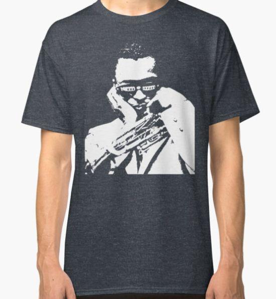 Miles Davis t shirt Classic T-Shirt by vanitees5211 T-Shirt