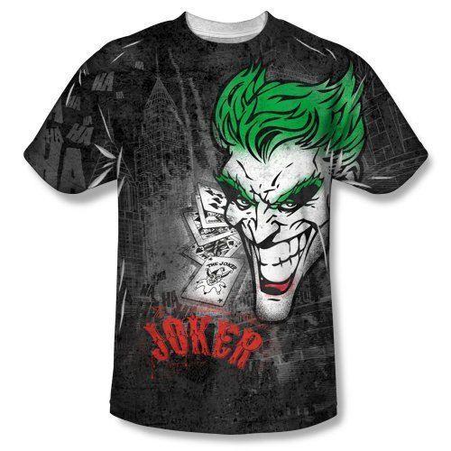 Batman Joker Sprays the City Sublimated T-Shirt