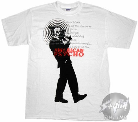 American Psycho Chainsaw T-Shirt