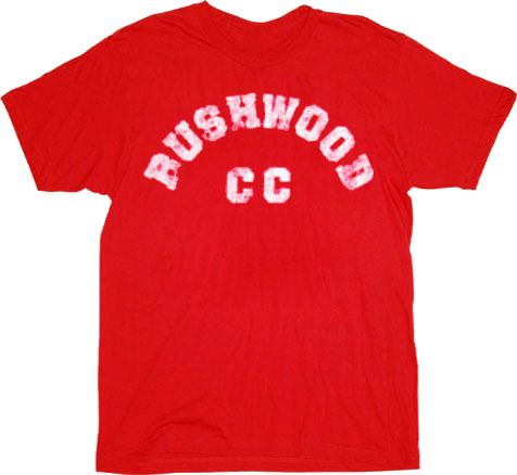 Caddyshack Bushwood CC Red T-shirt