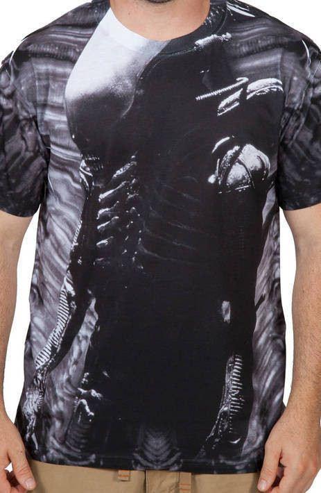 Creature Alien Sublimation Shirt