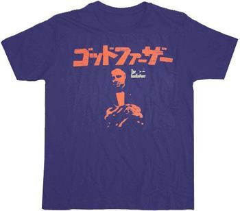 The Godfather Japanese Navy T-shirt