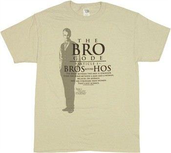How I Met Your Mother Bro Code Article One T-Shirt