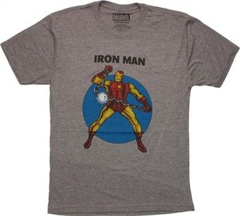 Always be Iron Man T Shirt Marvel Avengers Infinity était fort Funny Gift Men Top