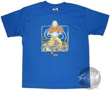 Avatar: The Last Airbender Blue Youth T-Shirt