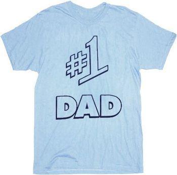 Seinfeld #1 Dad Light Blue Mens T-shirt