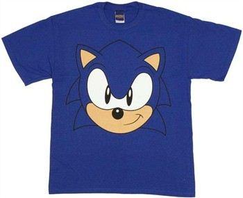 Sonic the Hedgehog Big Head T-Shirt