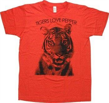 The Hangover Tigers Love Pepper T-Shirt Sheer