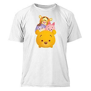 ''Tsum Tsum'' Winnie the Pooh and Pals Tee for Kids