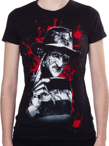 Juniors Freddy Krueger Shirt