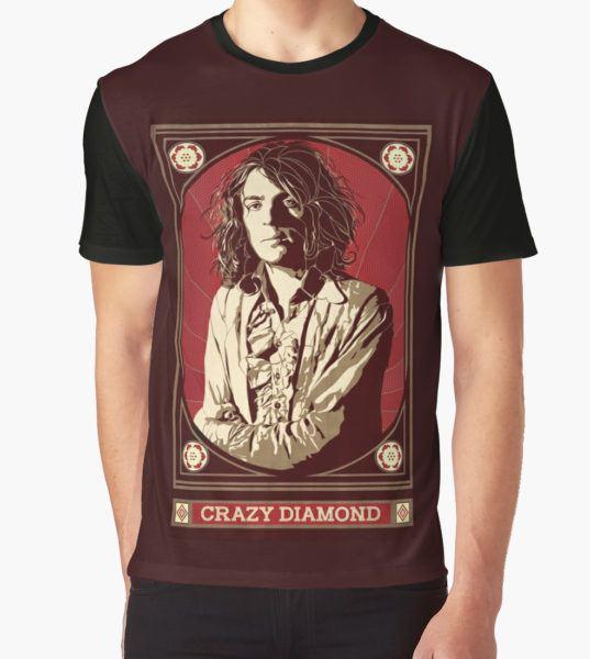 Syd Barrett/Crazy Diamond Graphic T-Shirt by -f-e-l-i-x-x- T-Shirt