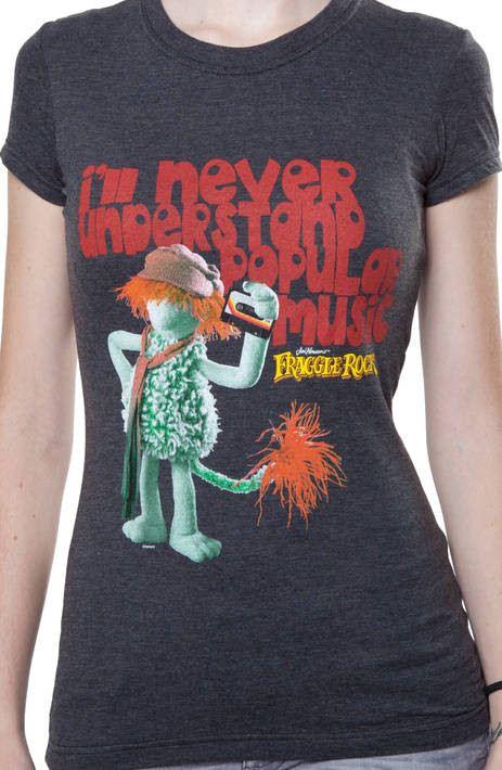 Ladies Boober Fraggle Rock Shirt